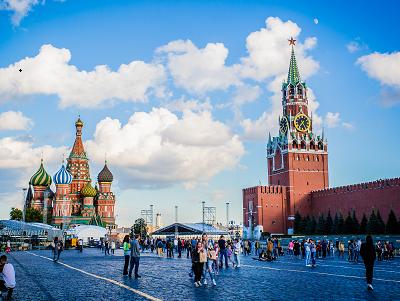 赴俄中国游客增加 中俄友好是重要因素